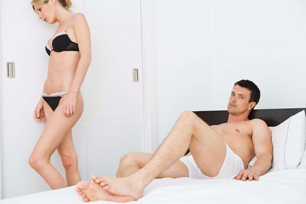 az erekció hiányának okai egy nőnél