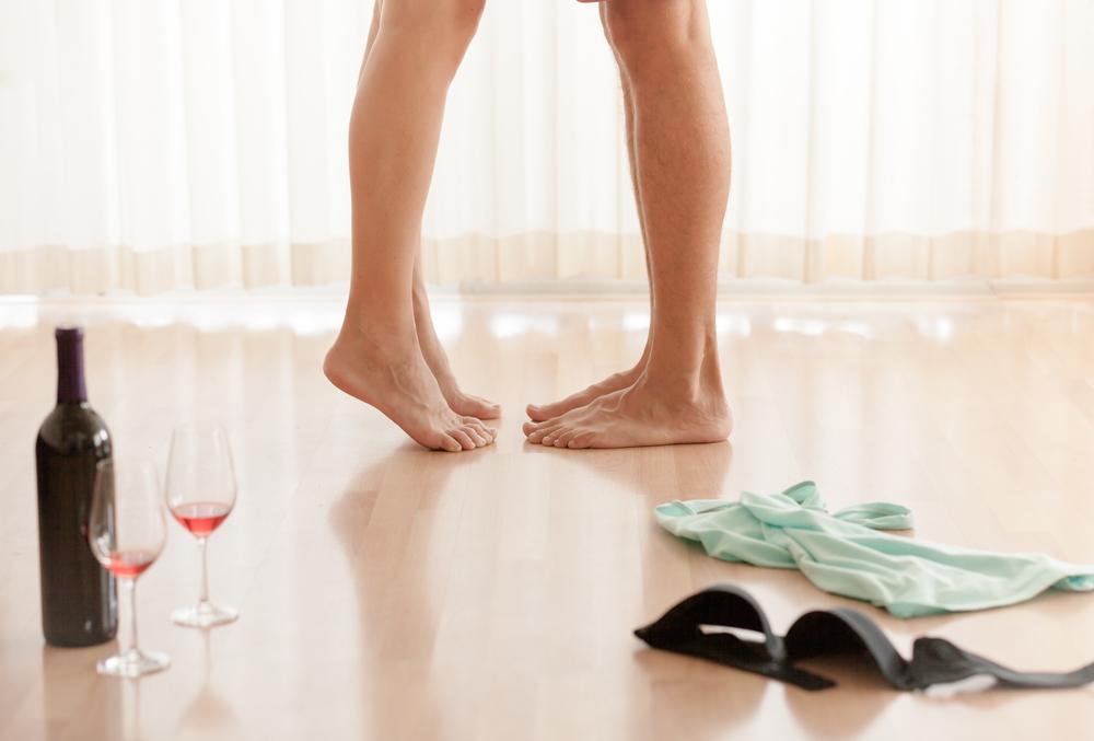 alkohol erekció után